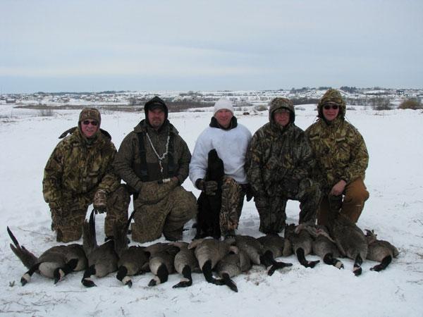 Minnesota Late Season Goose Hunting